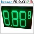 """Leeman 10 дюймовый 12 """"дюймовый 8.889 4 цифры Белый, Красный, Зеленый, Желтый цвета наружных светодиодных газа цена цифровой дисплей"""
