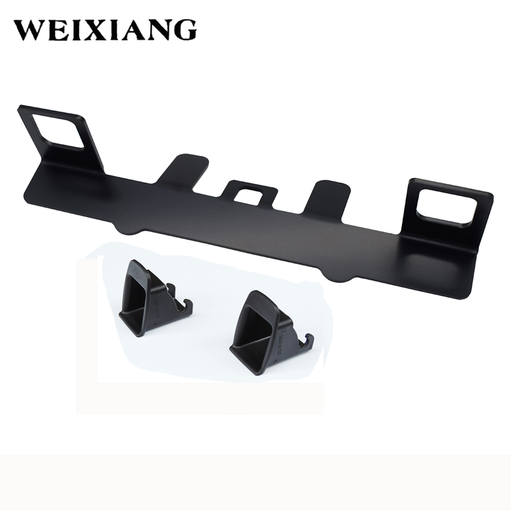 Universal Car Seat ISOFIX Belt Connector Interfaces Guide Bracket Retainer Child Chair Safety Seat Belts Holder For Honda Fit