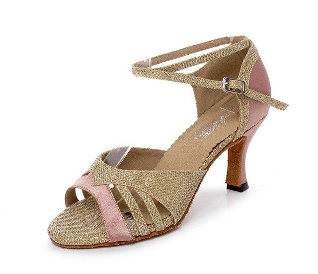00bd740c9b Feminino Latina Tango Sapatos de Dança De Salão Mulher Modernos Sapatos de  Dança Latina Sapatos