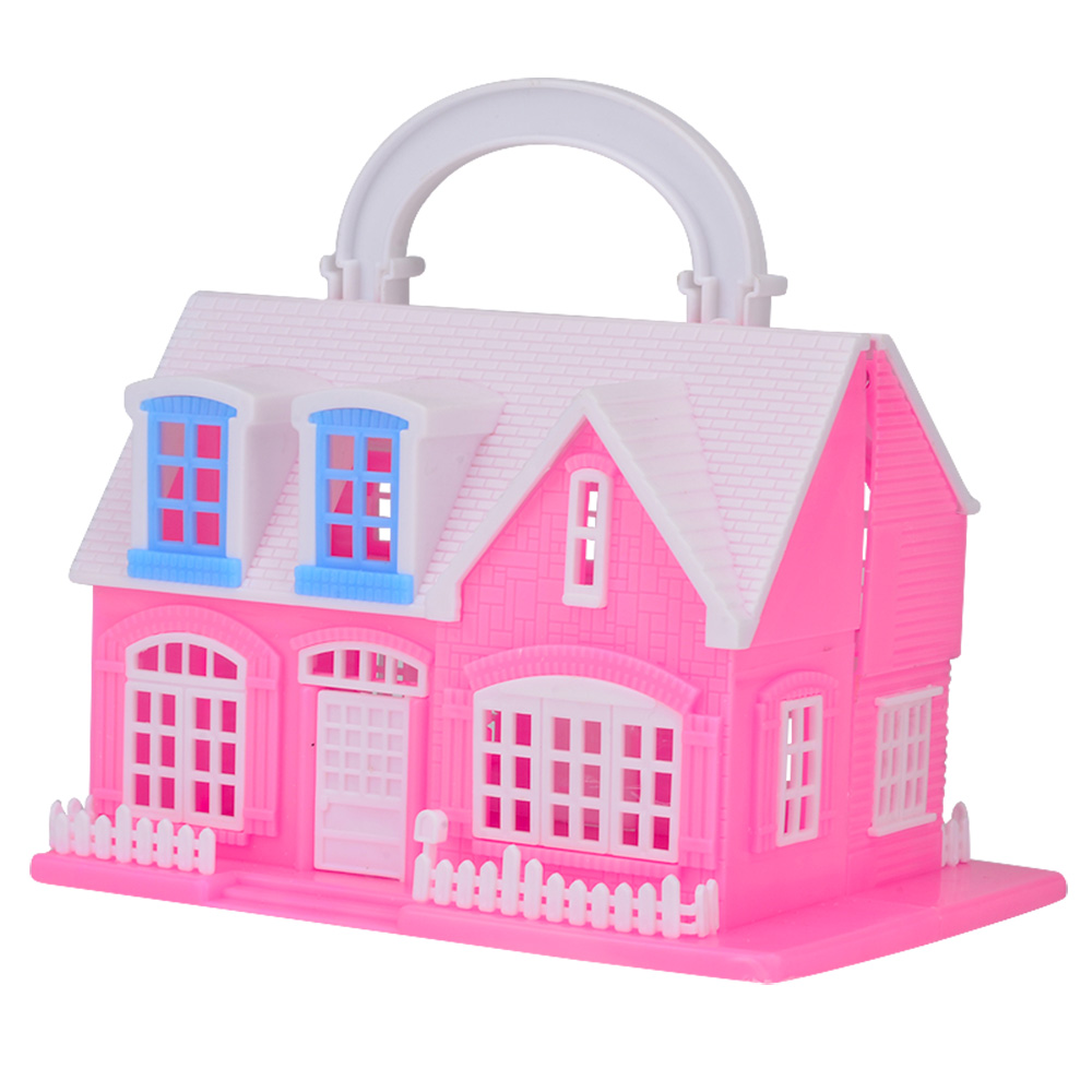 SHENGBOAO Kids Toys Mini Doll House Furniture Accessories for Barbie Doll Toys Play House for Children Baby Girl Best Gift diy doll house villa model include dust cover and furniture miniature 3d puzzle wooden dollhouse creative birthday gifts toys