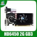 ATI Radeon HD6450 2 GB DDR3 64Bit 625/1066 MHz DVI/VGA/HDMI para PC normal e pequeno PC