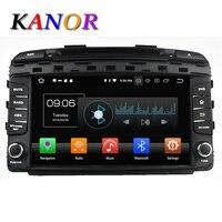 KANOR 1024 600 Octa Core Android 6 0 Car DVD Player For KIA Sorento 2015 Car
