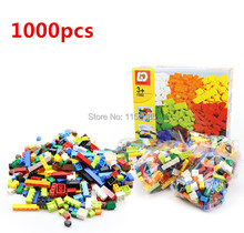 1000pcs Classic Building Bricks Set DIY Toys for Children Educational Building Blocks Bulk Bricks Compatible with