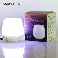 ASMTLED Mi Light WiFi Controller 2.4G Wireless WiFi iBox1 Hub for Mi.Light CW/WW RGB RGBW LED Bulb Lamp Support iOS Android APP