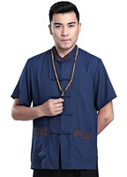 Shanghai Story man Kungfu Top Chinese Style Top Kung Fu Shirt Traditional Men's Clothing Chinese top