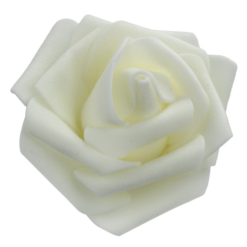 PE Foam Artificial Flowers Fake Rose Bouquet DIY Wedding Party Home N 04