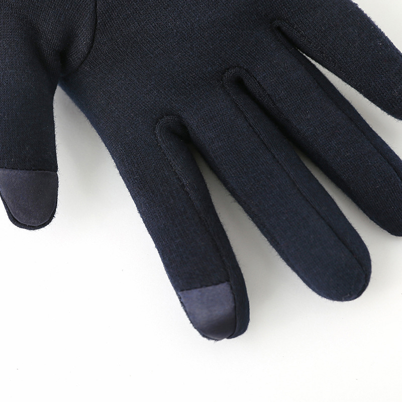 Winter Windproof Touch Screen Gloves for Female made of Cashmere Suede Leather Allows to Use Touch Screen Device Freely 1