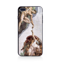 Mona Lisa Art David Case Soft Funda Coque For iphone xs case Phone Case cover For iPhone 5 5S SE 6 6s 7 8 Plus X XR XSMax case