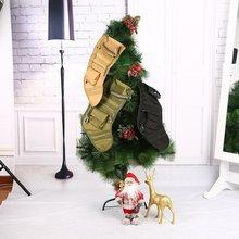 Тактический Молл Рождественские Носки сумка СВАЛКА падения Чехол утилита сумка для хранения Военная Униформа армейские Охота Рождество Носки для девочек подарочная упаковка