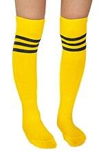 Soccer Baseball font b Football b font Basketball Sport Women Socks Yellow