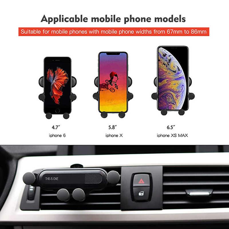 ユニバーサル自動車電話ホルダー車の携帯サポートエアベントマウントスマートフォンのサポートカーホルダー電話