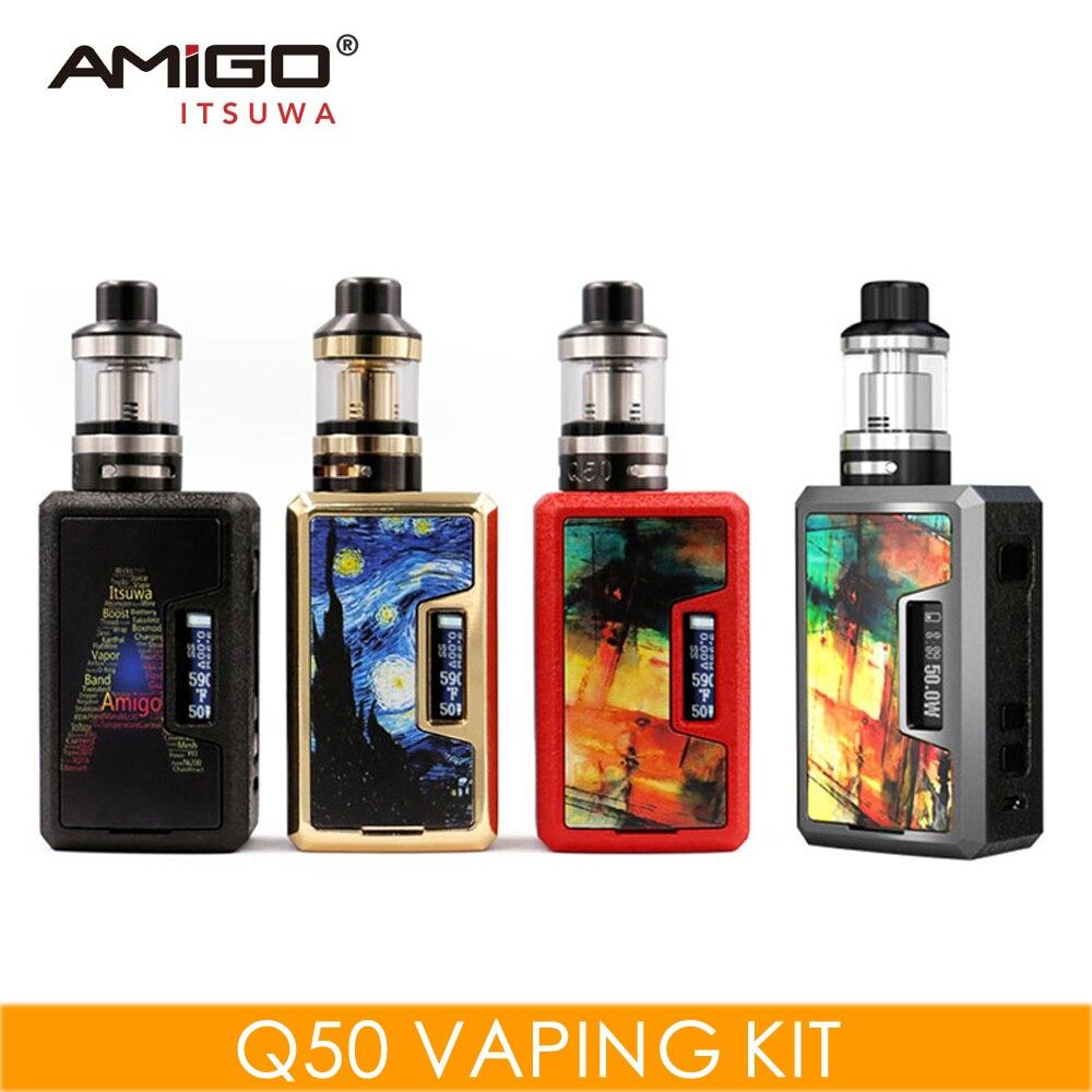 मूल AMIGO Q50 वेप किट 0.5ohm - इलेक्ट्रॉनिक सिगरेट