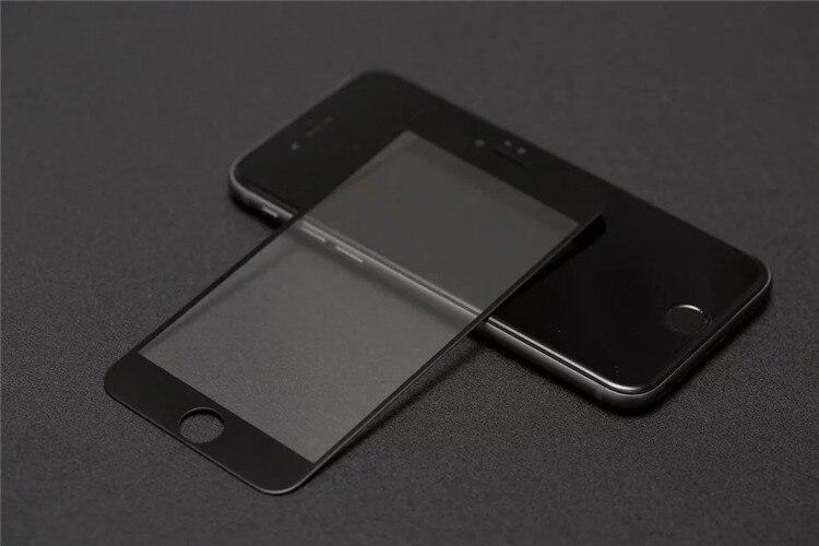 9H 2.5D matowy matowy pełna pokrywa szkło hartowane Screen Protector dla iPhone X XS MAX XR 10 8 7 6s 6 Plus 7Plus anty odciski palców 20