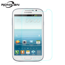 Protective Tempered Glass For Samsung Galaxy i9082 i9060 Screen Protector Film c