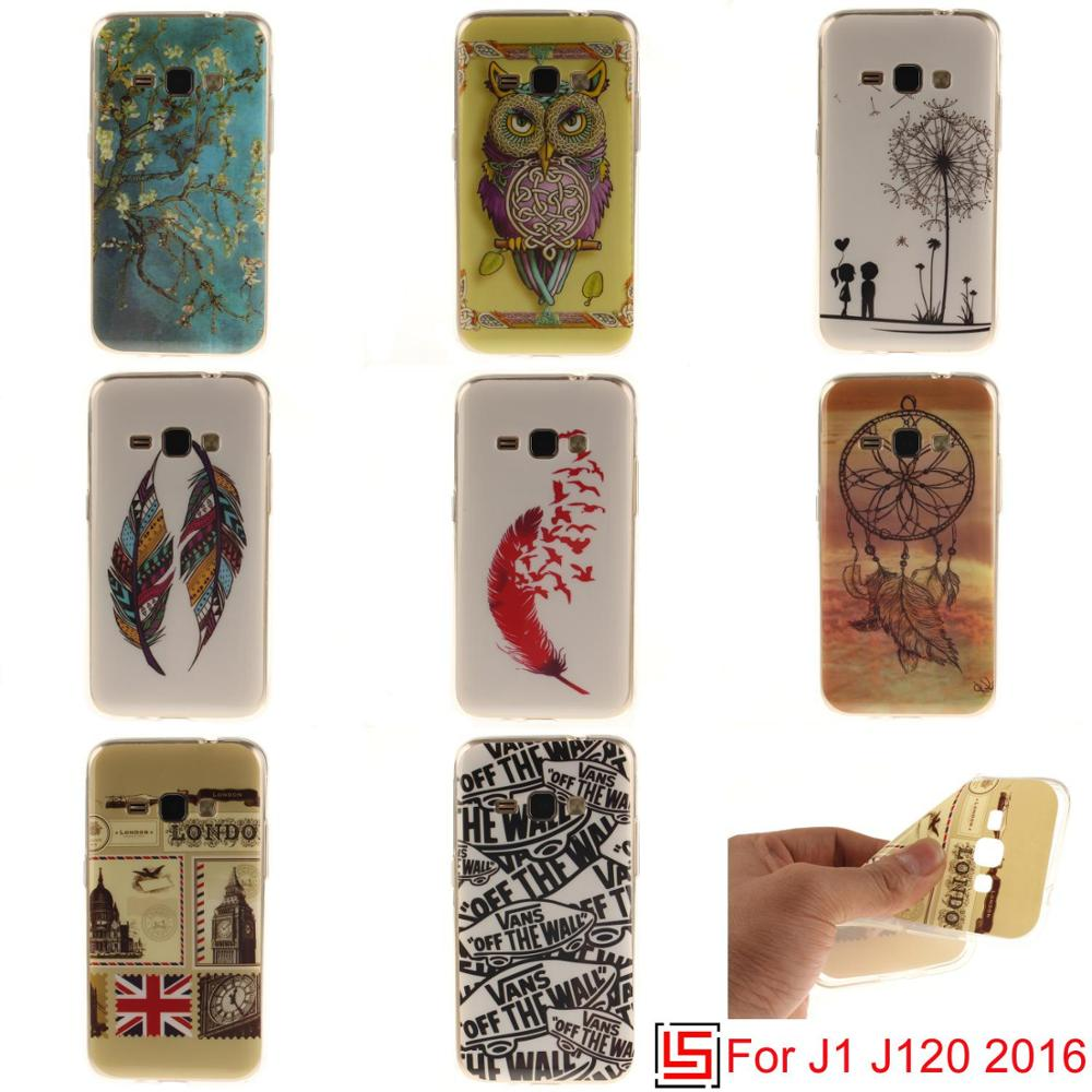 Beautiful Pretty New Ultra Thin TPU Silicone Soft Phone Case Cover For Samsung Galaxy Galaxi <font><b>J1</b></font> <font><b>2016</b></font> J 120 J120 Dreamcatcher image