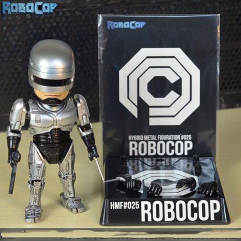 high quality 16cm Diecast Alloy Robocop Action Figure Model Toys Xmas Gifts Collections Children Toys Gift in Action Toy Figures from Toys Hobbies