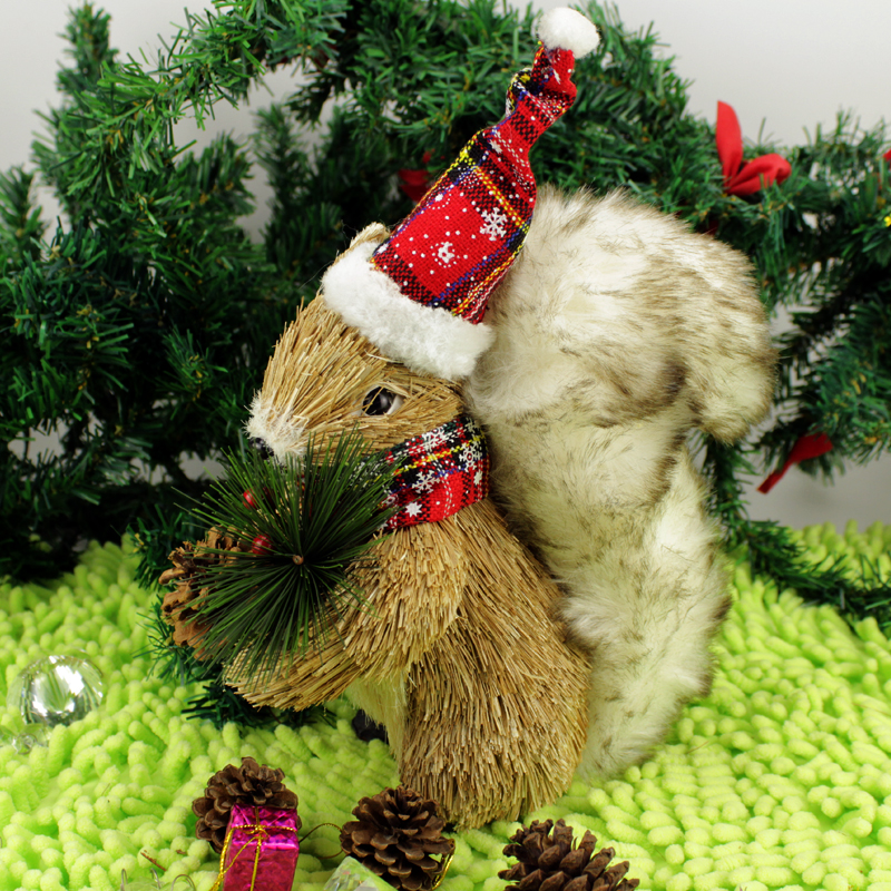 Handicrafts Decoration Squirrel Arts And Crafts Christmas