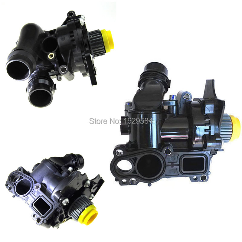 NEW Car 1.8T 2.0T Engine Cooling Water Pump Assembly 06H 121 026 06H121026 For Jetta Golf Tiguan Passat CC For Octavia Seat Leon new electric engine water pump 11517586925 for bmw x3 x5 328i 528i
