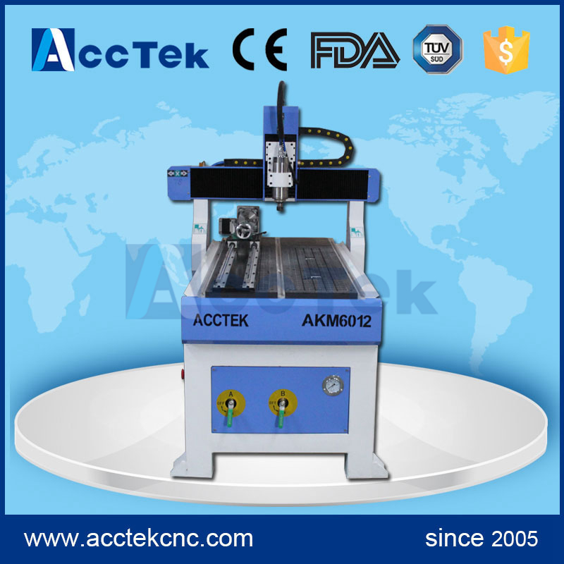Cheap CNC Engraver Cnc Cutting Machine For Wood ,cnc Milling Machine AKM6012 With Vacuum Table