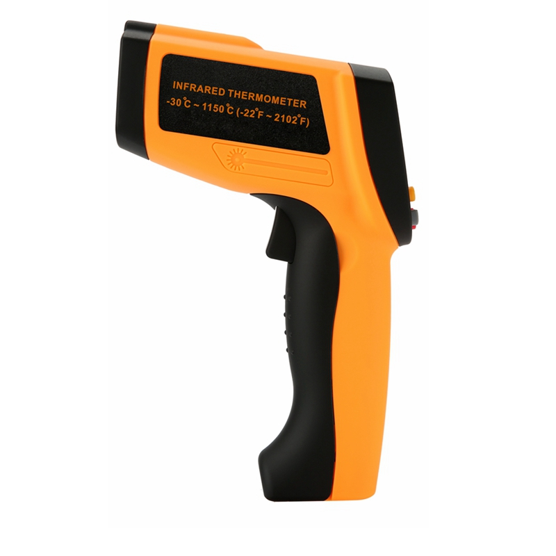 20 1 Infrared Thermometer 1150C or 2102F Professional Non contact Industrial Pyrometer IR Temperature Meter 0