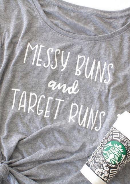 610992ca Casual Slogan Grunge Tee Graphic goth Gift Girl Letter Tumblr Tops Messy  Buns and Target Runs