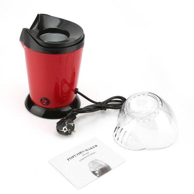 Portabel Elektrik Mesin Popcorn Rumah Sepanjang Gi Diy I Pipoqueira Dapur Desktop Mini