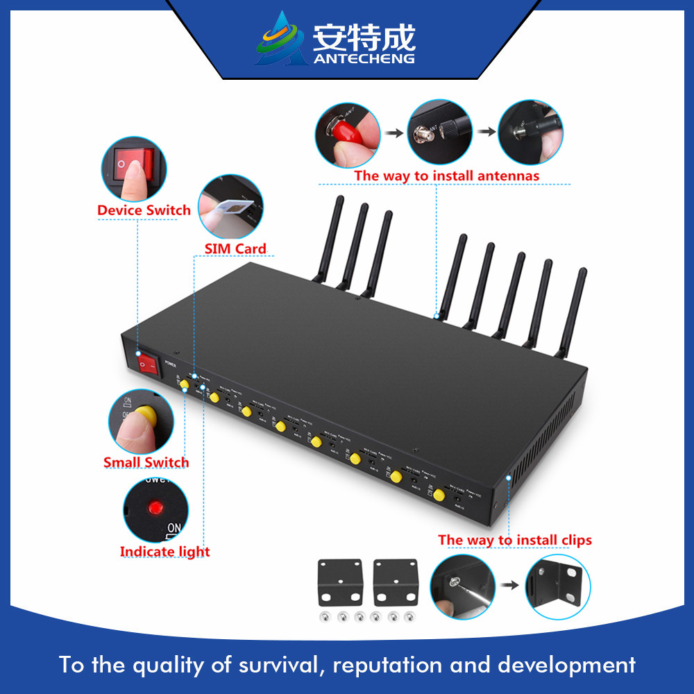Hot sale slim design 3g 8 port modem pool sim5360 A/E, bulk sms 8 port modem pool 3g, 8 port 3g sms modem pool simcom 7100 4g modem pool 4g 8 port modem pool 4g lte modem pool