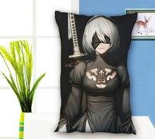 Japanese Anime NieR Automata Rectangle Pillow Case Pillowcase fashion love pillow cover