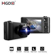 "HGDO 2 ""Mini Car DVR Dash cam Full HD Videocamera per auto Videocamera 1080 P Dvr di Visione Notturna video Recorder Autoregister dashcam"