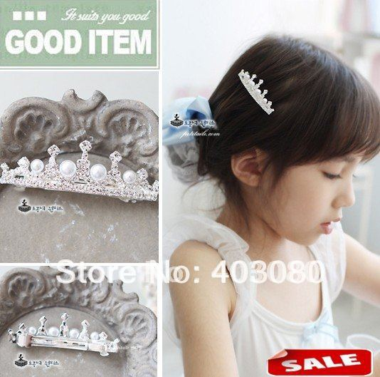 South Korea style girl  Alloy crown design hair combs,kid Headwear,Alice band Wholesale & Retail