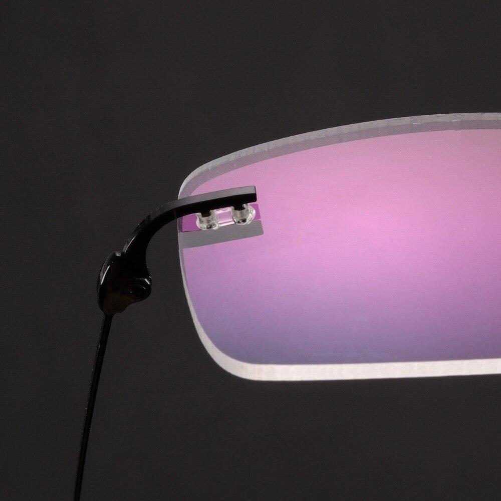 12a6bb2f91 Alloy Glasses Men Rimless Prescription Glasses Optical Myopia Reading  Progressive Photochromic Anti Blue Eyeglasses  525-in Prescription Glasses  from ...