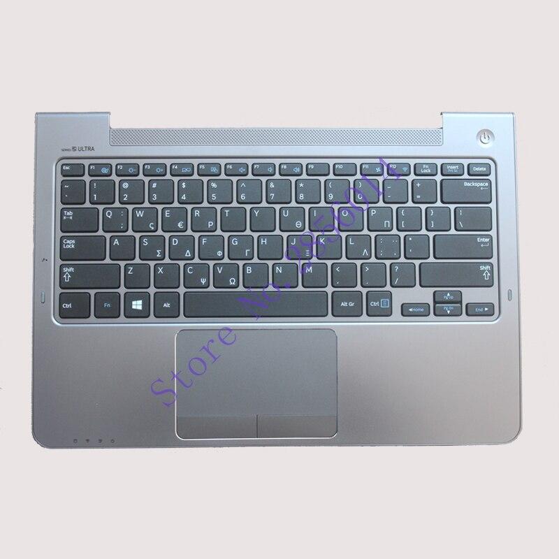NEW!!! GK For Samsung NP530U3C NP530U3B NP535U3C 530U3B 530U3C NP540U3 NP532U3C NP532U3A With C shell Greek keyboard крепление для жк дисплея ноутбука for samsung samsung 5 np530u3b np530u3c np532u3c np532u3x np535u3c np535u3b ba75 03780a np530 np535 np535u3b np530u3b np530u3c np532u3c np532u3x np535u3c