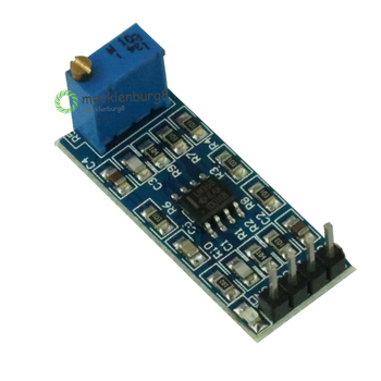 LM358 100 times signal amplification Amplifier gain operational amplifier module 5 V-12 V Bestseller image