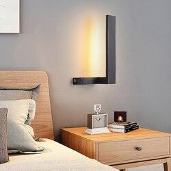 Thrisdar 10 W osobowość twórcza LED ściana światło sypialnia lampki nocne korytarz schody kinkiet aluminium Hotel restauracja lampa ścienna