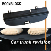 Auto Car Rear Trunk Cargo Shelf For VW Volkswagen Tiguan Car Rear Tail Racks Retractable Curtain Spacer Accessories