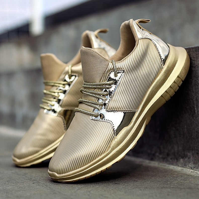 Gold Running Shoes For Women Zapatillas