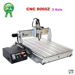 Image 3 - 4 ציר USB יציאת CNC 8060 2.2KW ציר March3 ER20 קולט CNC נתב 3D מתכת מכונת חיתוך אלומיניום חרט CNC עץ כרסום