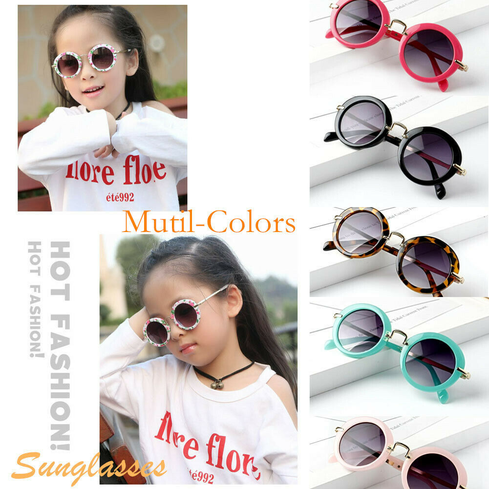 Retro Fashion Children Kids Boys Girls Students Holiday Sunglasses Eyewear New