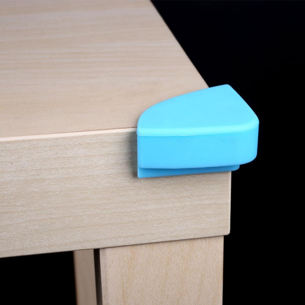 Soft Silicone Furniture Corner Edge Cover For Baby Kids Children Safty Corner  Protector Anti Crash