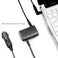 15-21 v 65 w ultra slim uniwersalna ładowarka samochodowa do laptopa lenovo samsung asus acer toshiba dell hp/compaq nec notebooki adapter