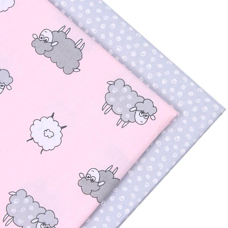 New animal style 2pic lot 40 50cm cotton fabric tecidos algodao para patchwor - Lot de tissu patchwork ...