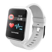 New Fitness Tracker Smart Watch With Blood Pressure Heart Rate Monitor Smart bracelet IP67 Waterproof for Iphone Android(White