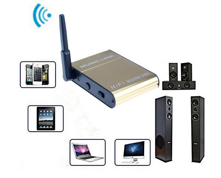 Bluetooth Audio Receiver X300 Wireless Music Link for i-Phone//Computer//Tablet PC