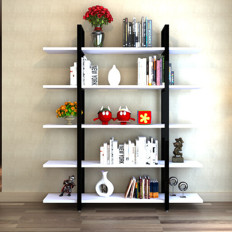 Bookcases Bookcases Living Room Furniture Home Furniture Wood Bookshelf Cabinet Display Book Stand Modern Storage Rack Functional Wholesal