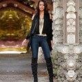 Прочный Моды для женщин, пальто Женщин Сексуальный С Плеча Свободные Нерегулярные Кардиган Топ Cover up