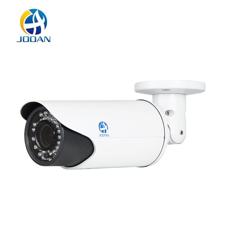 JOOAN 705NVR-T 1.3MP POE IP Camera ONVIF Bullet Outdoor Waterproof 2.8mm-12mm Surveillance Camera 42pcs IR Leds Network Camera