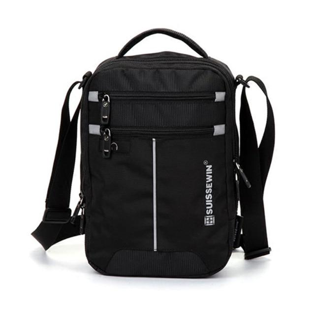 Swiss Shoulder Bag Leisure Briefcase Small Messenger Bag for 9.7 2