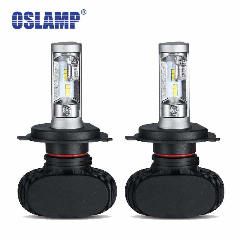 Oslamp Auto Led H4 Headlight 9003/Hb2 Led H4 Car Bulb CSP 50W 8000lm 6500K  Lamp All-in-one for Toyota/Highlander/4Runner