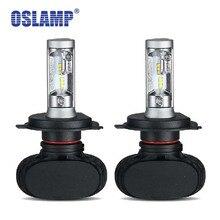 Oslamp авто светодиодные H4 фар 9003/Hb2 Led H4 шарик автомобиля CSP 50 W 8000lm 6500 K лампы все-в-одном для Toyota Highlander/4 Runner