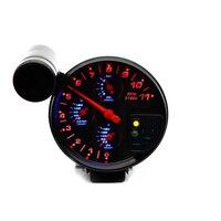 5 4 IN 1 Car Meter Water Temperature Gauge Oil Temp Gauge Oil Pressure Gauge Tachometer With Sensors Auto Racing Modified